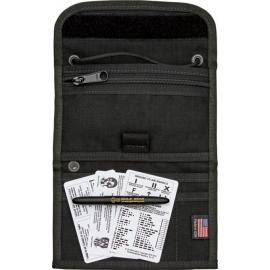 Borsa per documenti con penna ESEE Passport Case Black