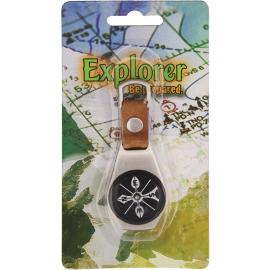 Bussola Explorer Keyring Compass