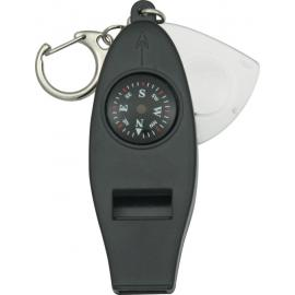 Bussola e fischietto Explorer Emergency Whistle.