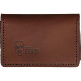 Portafoglio Brown Nero Stitched