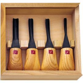 Flexcut,Intaglio su legno,Set di miniature terra