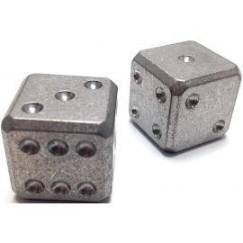 Titanium Dice Set Stonewash