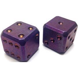 Titanium Dice Set Purple