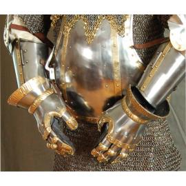 Manopola a dita separate Get Dressed For Battle Gauntlets