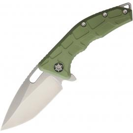 Heretic Knives H009-2GR Martire Liner verde