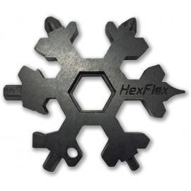 HexFlex,Nuovi Articoli,Strumento di avventura nero metrica