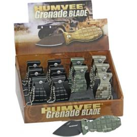 12 Pack Mini Grenade Knives