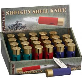 Shotgun Shell Knives 24 Piece