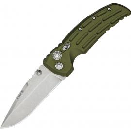 Coltello Hogue Medium Tactical Folder od green matte drop