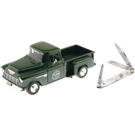 Scale Model Pick-up with Knife