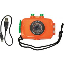 Duo Sport d'azione fotocamera arancione
