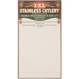 IXL,Espositori,Posate inox Display Card