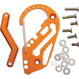 Key Biner Aluminum Orange