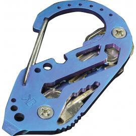 KeyBiner TITANIUM ANNO BLUE Biner chiave titanio blu