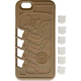 Stowaway EDC iPhone Case Tan