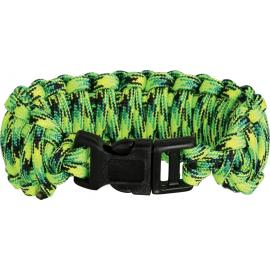 Braccialetto Knotty Boys Survival Bracelet verde medium