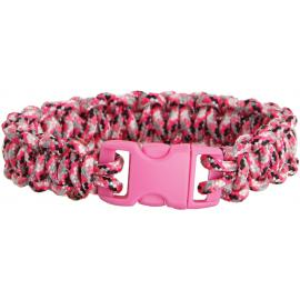 Bracciale di sopravvivenza Knotty Boys Bracelet Pink Youth Md