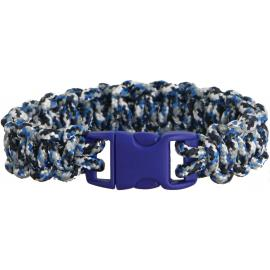 Bracciale di sopravvivenza Knotty Boys Bracelet Blue Youth Md