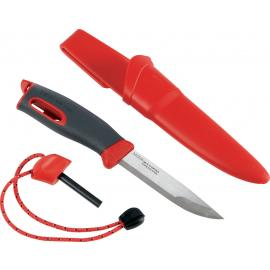 Coltello con acciarino di sopravvivenza Light My Fire Swedish FireKnife red