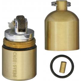 Brass Split Pea Lighter
