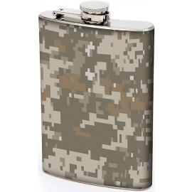 8oz Digital Camo Flask