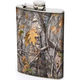 8oz JX Camo Flask