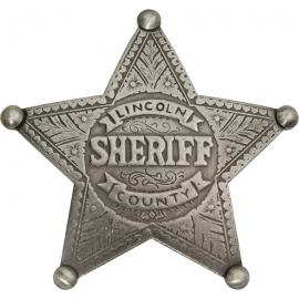 Badges of the Old West - Lincoln County Sheriff Badge