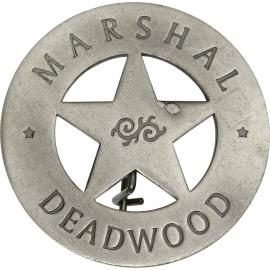 Badges of the Old West - Marshal Deadwood