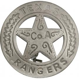 Badges of the Old West - Texas Rangers