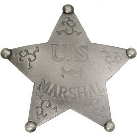 Badges of the Old West - U.S. Marshal