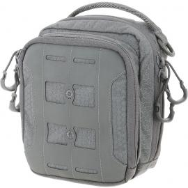 Accordion Utility Pouch Gray