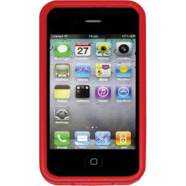 Custodia per iPhone 4 e 4S Nite Ize BioCase Red