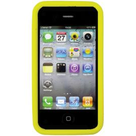 Custodia per iPhone 4 E 4S Nite Ize BioCase Yellow