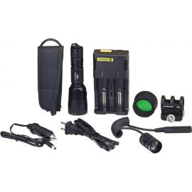 CR6 Red Flashlight Hunting Kit