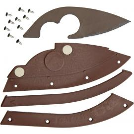 Bill Blade Knife Brown