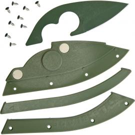 Bill Blade Knife OD Green