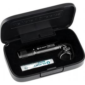 I3E Black Flashlight Gift Box