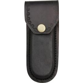 Black Leather Belt Sheath
