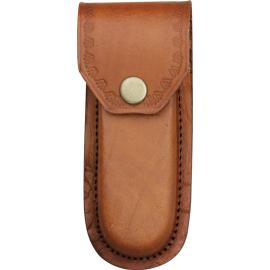 Brown Leather Belt Sheath