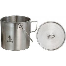 Stainless Bush Pot
