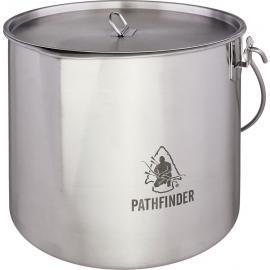 Stainless Large Bush Pot Set