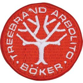 Logo Boker Patch Red