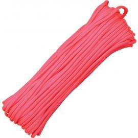 Corda 7 fili Parachute Cord rosa 30 metri