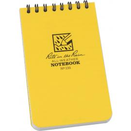 Top Spiral Yellow Notebook 3x5