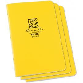 Level Stapled Notebook 3 Pk