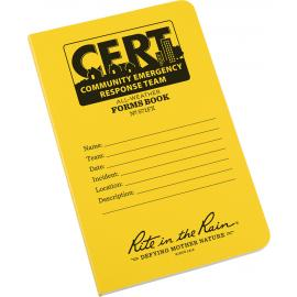CERT Bound Notebook