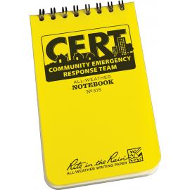 CERT Forms Book 3x5