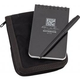 """3"""" x 5"""" Kit Black Book/Cover"""