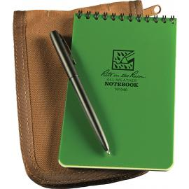 4 x 6 Kit Green Book/Tan Cover