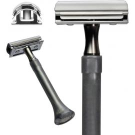 4 Edge Safety Razor Silver